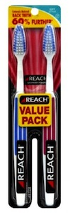 Reach Toothbrush 2 Pack