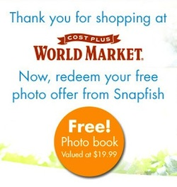 Snapfish FREE Photo Book