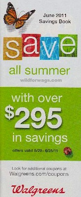 Walgreens June 2011 Coupon Booklet