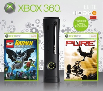 Cowboom: New Xbox 360 Elite 120GB Bundle $179 Shipped