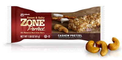 Zone Perfect Cashew Pretzel Bar