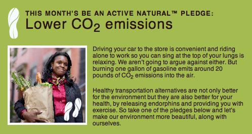 Aveeno Active Natural Pledge