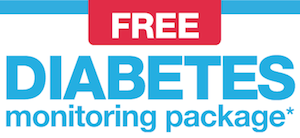 CVS FREE Diabetes Monitoring Package