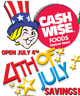 Cash Wise 4th of July