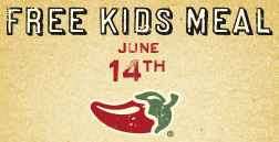 Chilis FREE Kids Meal