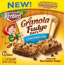 Keebler Granola Fudge Bars