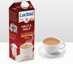 Lactaid Half and Half FREE Product Coupon