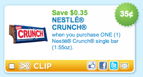 Nestle Crunch Coupon