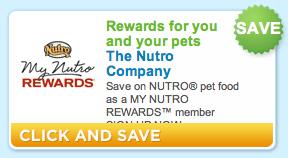 New Nutro Pet Food Coupon + PetSmart Deal
