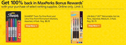 OfficeMax FREE Writing Utensils