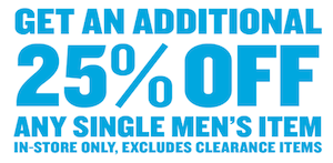 Old Navy Mens Coupon