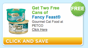 Petco Fancy Feast Coupon