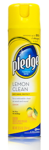 Pledge Lemon Clean