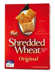 Post Shredded Wheat Cereal