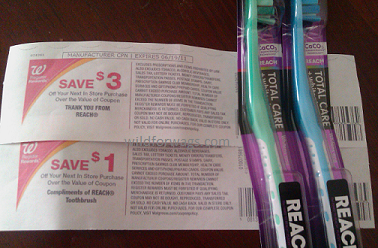 Reach Toothbrush Moneymaker Walgreens