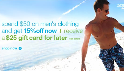 Sears Mens Apparel Promo