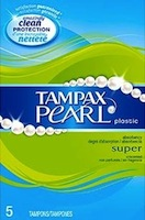 Tampax Pearl 5 Count