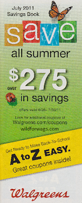 Walgreens July Coupon Book