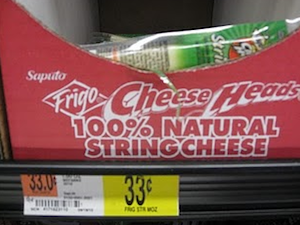 Walmart Frigo String Cheese