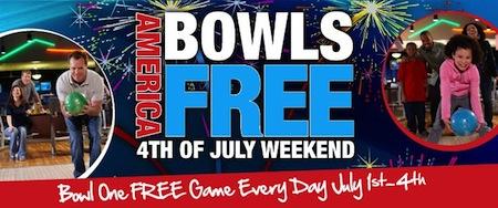 Brunswick America Bowls FREE