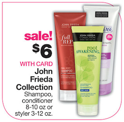 CVS John Frieda Deal