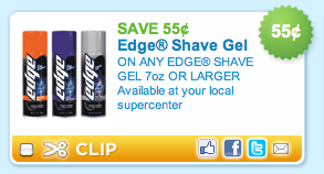 Edge Shave Gel Coupon