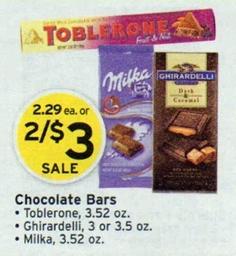 FREE Milka Bars Walgreens