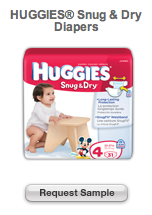 Huggies Snug Dry Diapers Sample
