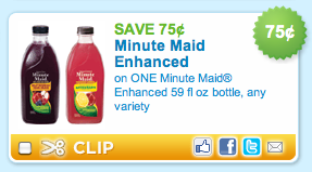 Minute Maid Enhanced Coupon
