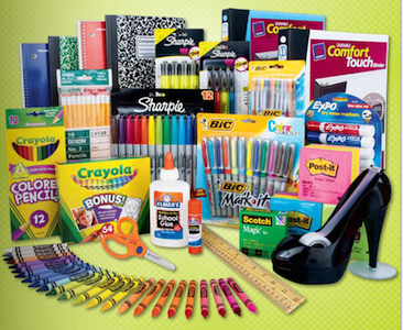 OfficeMax Back to School Items