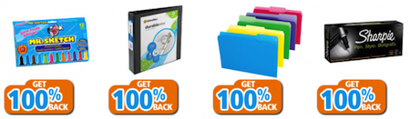 OfficeMax Back to School Rewards Freebies