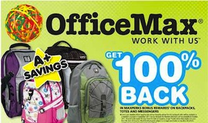 OfficeMax FREE Backpack