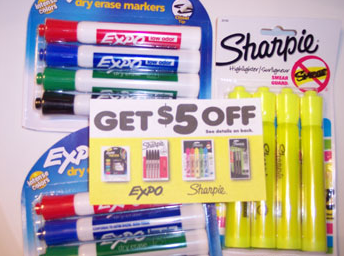 OfficeMax Sharpie Tearpad Coupon
