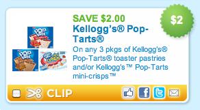 Pop Tarts Coupon
