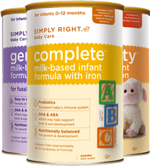 Simply Right Baby Formula