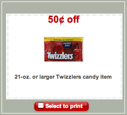 Twizzlers Target Coupon