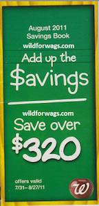 Walgreens August Coupon Book