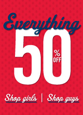 Aeropostale 50 Sitewide