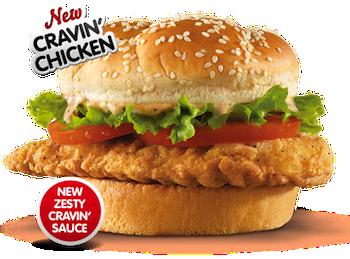 Arbys Cravin Chicken