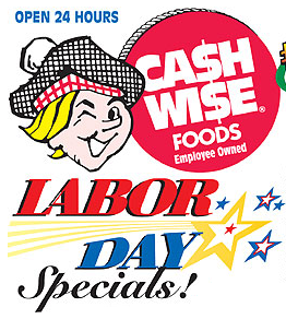 Cash Wise Labor Day Sale