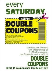 Coborns Double Coupon Saturday