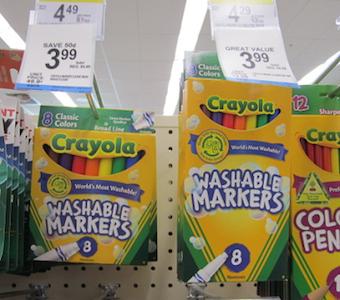 Crayola Register Reward Deal