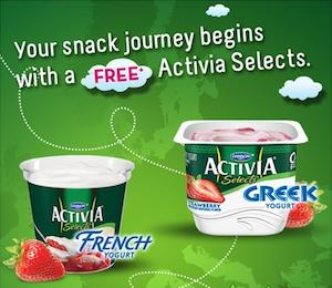 FREE Activia Selects