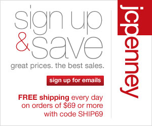 JCPenney Savings Newsletter