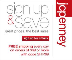 JCPenney Savings Newsletter