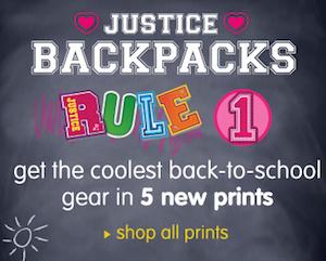 Justice Backpacks
