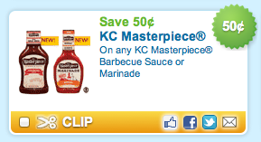 KC Masterpiece Coupon