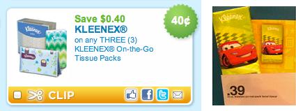 Kleenex To Go Target Deal
