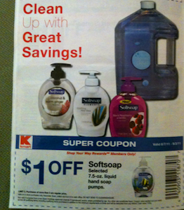 Kmart Softsoap Hand Soap Coupon