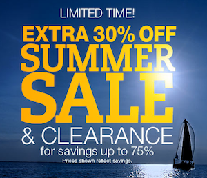 Lands End Summer Clearance Sale